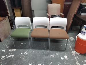 Guest chairs $10 each (good condition) for Sale in Houston, TX