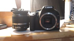 Canon Rebel XS EOS digital camera and lens for Sale in Dallas, TX