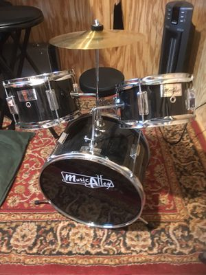 Kids' Drum Kit children's set, like new condition for Sale in Raleigh, NC