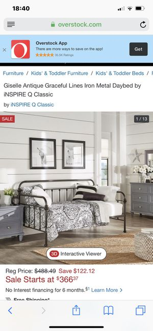 Twin Day Bed Frame and Mattress for Sale in San Diego, CA