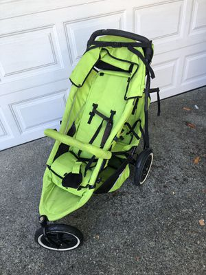 Phil and Ted's Sport Double Jogging Stroller with Rain Cover and Utility Bag for Sale in Seattle, WA