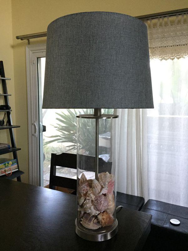 Beach Themed Shell Lamp 🐚
