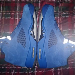 Jordan 5 Blue Suedes for Sale in Dearborn, MI