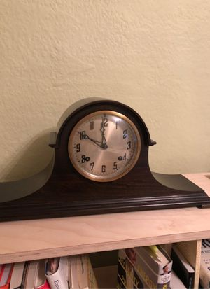 Antique mantle clock by the new haven clock company. for Sale in Seattle, WA