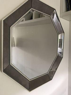 Octagon mirror silver for Sale in Los Angeles, CA