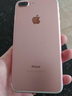 Pink sim unlocked Apple iPhone 7 PLUS 32gb for Sale in Elk Grove, CA