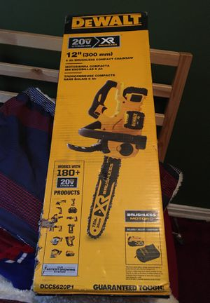 Brushless Chainsaw with (1) 5.0Ah Battery and Charger Included for Sale in Silver Spring, MD