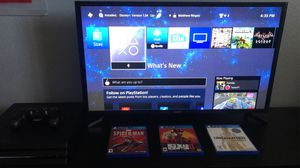 PS4 Pro 1 TB 4k System + GAMES(Bundle) for Sale in Roseville, CA