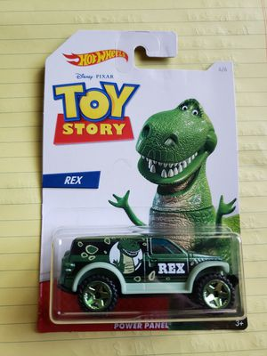 Hot Wheels toy story rex for Sale in Pomona, CA