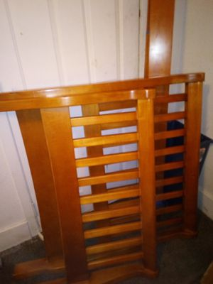 Twin sleigh bed frame for Sale in Muscatine, IA