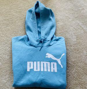 Brand New Puma Blue Cropped Sweatshirt for Women Sz. SM for Sale in Dacula, GA