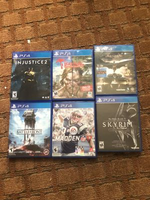 Ps4 games for Sale in Fort Walton Beach, FL