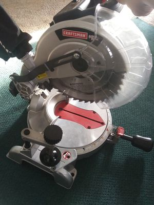 Craftsman 10' laser trac saw for Sale in Greenville, NC