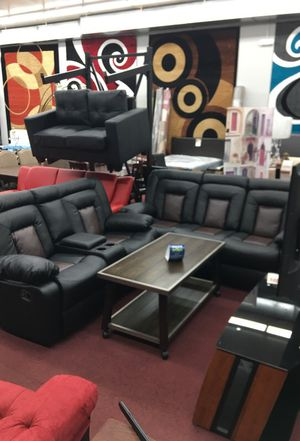 Recliner sofa and loveseat $999 for Sale in Hyattsville, MD