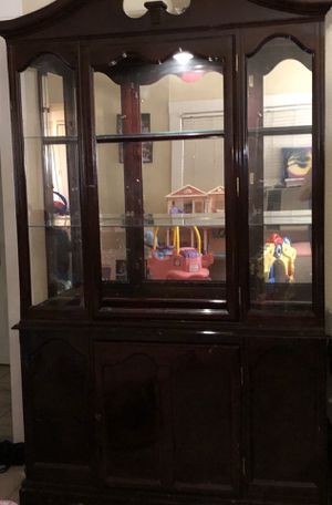 Free Lighted China Cabinet for Sale in Antioch, CA