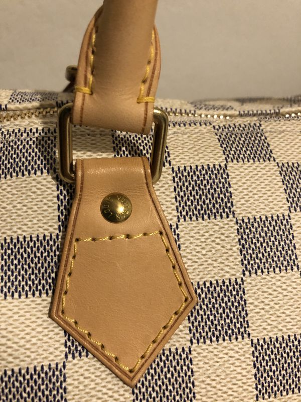 Authentic Louis Vuitton Speedy 30 in Damier Azur