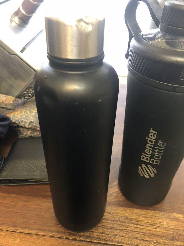 Blender bottle and bottles