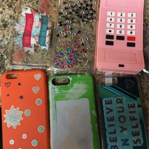 iPhone 6s Plus Phone Case (6 Count) Plus Wallet for Sale in Olympia, WA