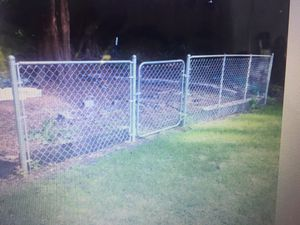 20' chain link fence, must dig out for Sale in Stanwood, WA