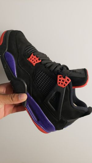 Jordan 4 Raptors nike purple size 10 200$ for Sale in Tustin, CA
