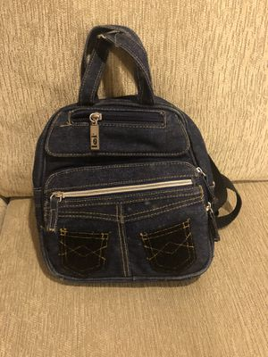 Denim small backpack purse for Sale in Dearborn, MI