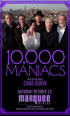 10000 Maniacs Tickets Marquee Theatre Tempe Arizona October 13 GA & Sitting for Sale in Scottsdale, AZ