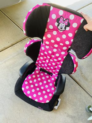 Disney Booster seat that converts to big kid booster for Sale in Henderson, NV