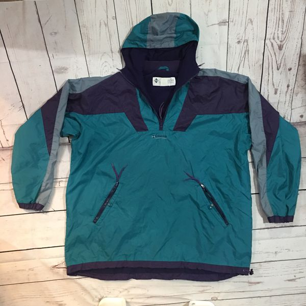 1675db9a1cbf Vintage 1990s Columbia Half-Zip Jacket - XL for Sale in Tacoma