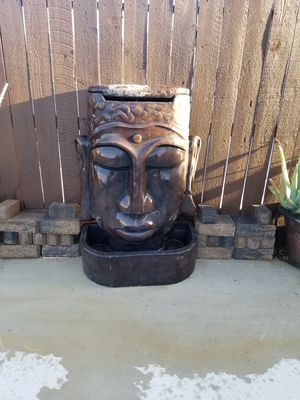 Cement water fountain for Sale in Fresno, CA