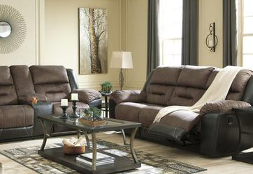 🌞SPECIAL] Earhart Chestnut Reclining Living Room Set for Sale in Beltsville,  MD