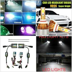 Led headlight bulbs and hid conversion lights kit- any ride dodge ram charger lexus gs300 nissan gmc Sierra scion any truck car for Sale in Phoenix,  AZ