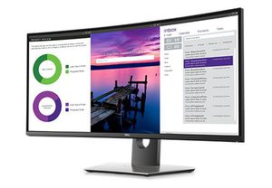 "Dell U3419w 34"" Curved LED Monitor for Sale in Fort Mill, SC"