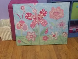 Butterfly canvas for Sale in Crosby, TX