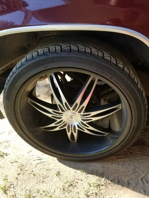 24 inch rims and tires $1000 for Sale in Dumas, AR