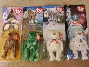 beanie babies mcdonalds full set of 4 for Sale in West Carson, CA