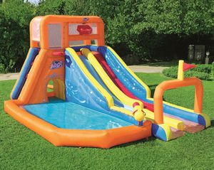 Inflatable Double water slide for Sale in Stoneham, MA