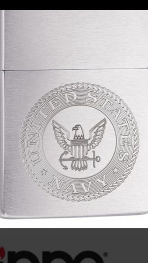 Zippo Lighter: United States Navy Crest for Sale in Whittier, CA