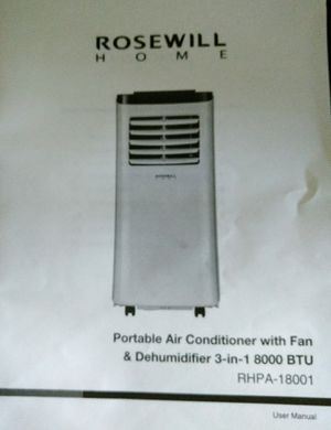 Portable Air Conditoner ..make offer for Sale in Los Altos Hills, CA