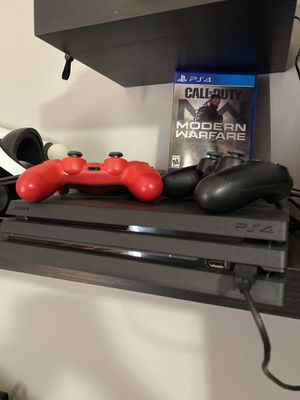 PS4 pro with extras for Sale in Miami, FL
