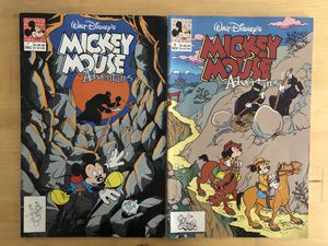 Disney vintage Mickey Mouse collectible comics for Sale in Los Angeles, CA