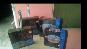 Copper Pots and Pans. NEW for Sale in San Diego, CA
