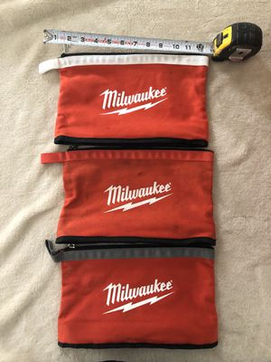 Milwaukee Tool Bag Tote Pouches for Sale in Bristol, CT