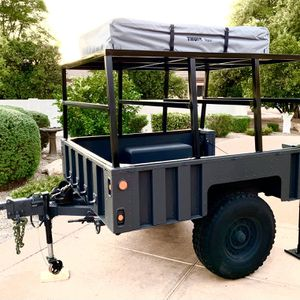 Off-Road Overlanding Toy Hauler Trailer for Sale in Mesa, AZ