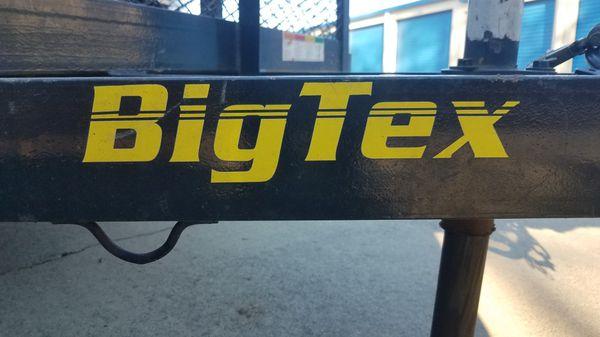 Trailer big tex