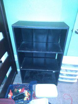 Small Black Shelf for Sale in Austin,  TX
