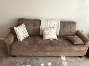 Couch/storage and bed MUST GO!!!! for Sale in Fairfax, VA