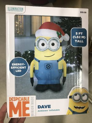 Christmas minion blow up for Sale in Odenton, MD