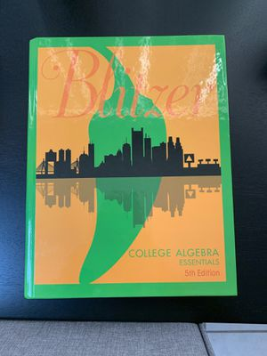 College Algebra Essentials 5th Edition for Sale in North Lauderdale, FL