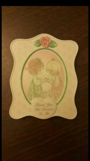 NEW Precious Moments Plaque w Free Gift for Sale in Quincy, MA
