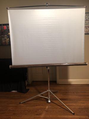 Draper Silver Screen (Tripod) for Sale in Mountain Brook, AL
